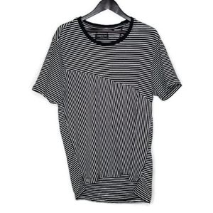 Kenneth Cole Striped Men's Short Sleeve Tee